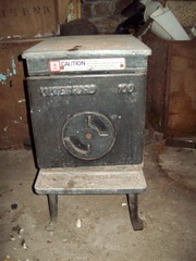 Waterford oblong iron cast woodburner