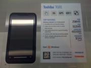 For Sale Brand New Toshiba TG01 Smartphone White & Black (unlocked)